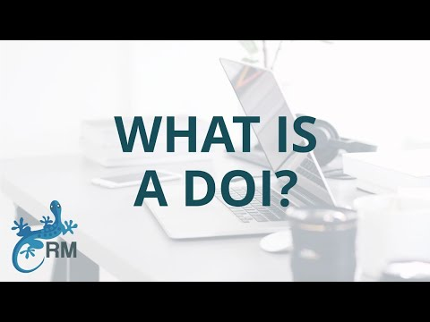 What is a DOI?