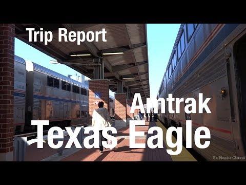TRIP REPORT - Amtrak Texas Eagle (Bedroom), San Antonio to St Louis