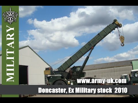 Doncaster, Ex Military stock. More than 30,000  EX.MOD vehicles  for SALE.