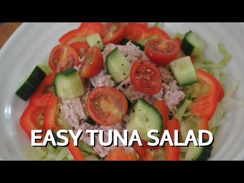 EASY TUNA SALAD - Student Recipe