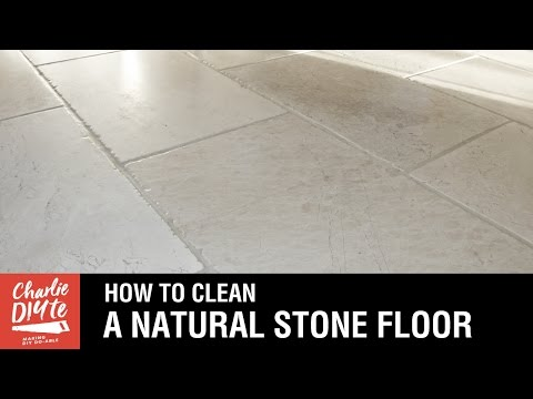 How to Clean a Natural Stone Floor