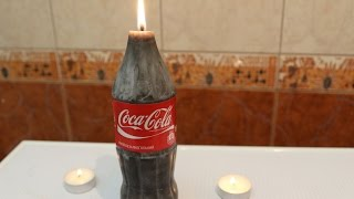 How to Make Coca Cola Candle | DIY Recipe