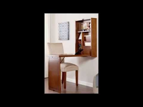 Fold Out Convertible Desk - Wall Mounted Folding Table