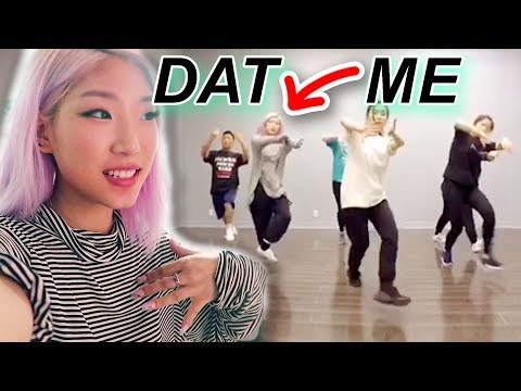 I tried going to hip hop class (follow me trying to learn dance)