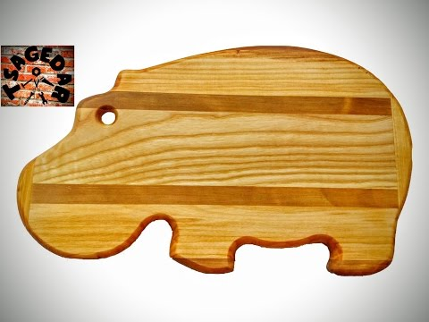 Krájecí deska - Hroch / Cutting board - hippo