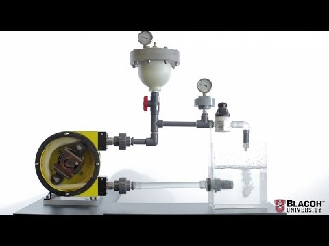 Pulsation Dampeners for Peristaltic & Hose Pumps