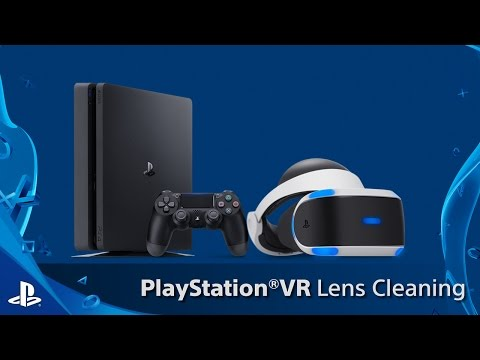 PlayStation VR Lens Cleaning
