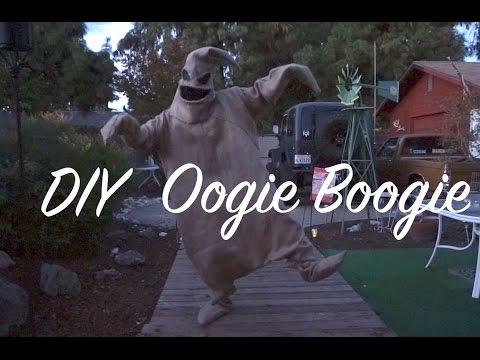 DIY Oogie Boogie Costume 1 Day Build