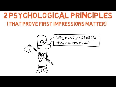 2 Psychological Principles That Prove First Impressions Matter