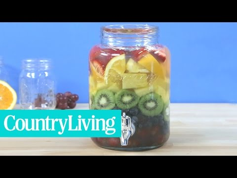 How to Make Rainbow Sangria | Country Living