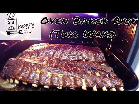 Oven Baked Ribs (Two Ways)