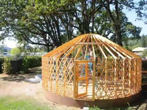 Pacific Yurts Time-Lapse Setup