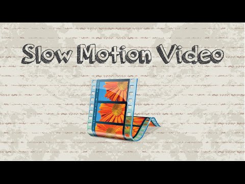 How to slow motion video on Windows Movie Maker