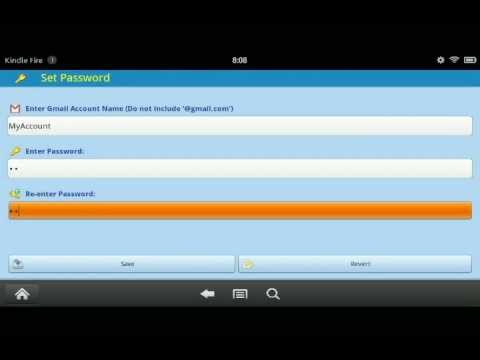 How to import Gmail contacts into your Kindle Fire