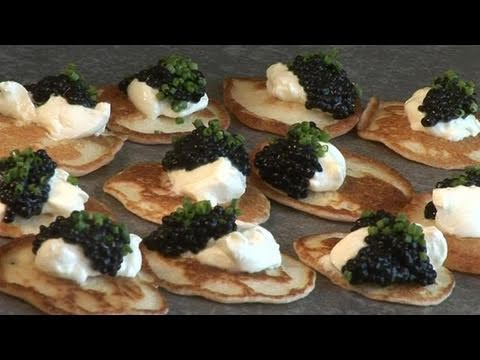How To Fry Blinis At Home
