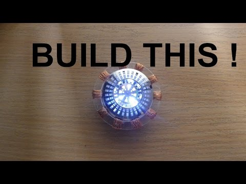 Build your own Iron Man Arc Reactor!