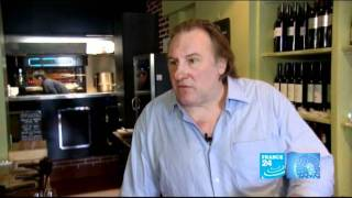 Gastronomie - Gérard Depardieu, vigneron