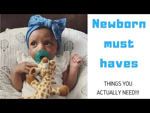 Newborn essentials I baby items you actually need