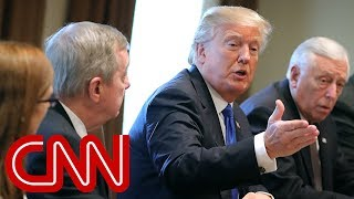 Trump leads bipartisan immigration discussion