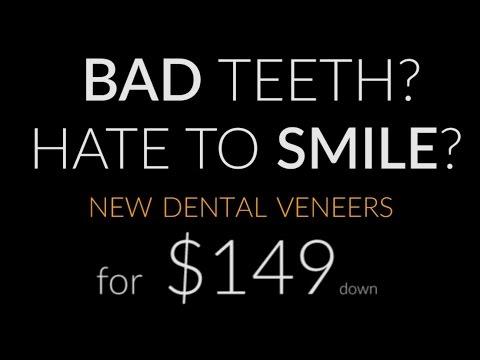 Screw Your Dentist - New Dental Veneers $149dn* @ Brighter Image Lab