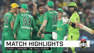 Stars one win away from their first ever BBL title   KFC BBL 09