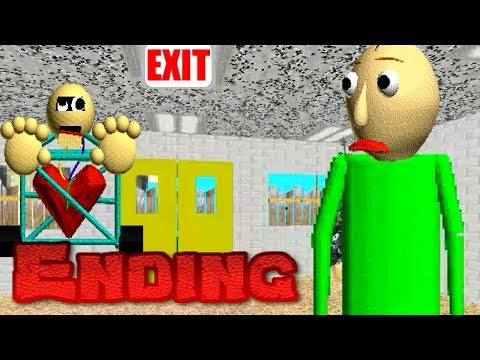 NEW ENDING V1.3 Baldi's Basics in Education and Learning (UPDATE)