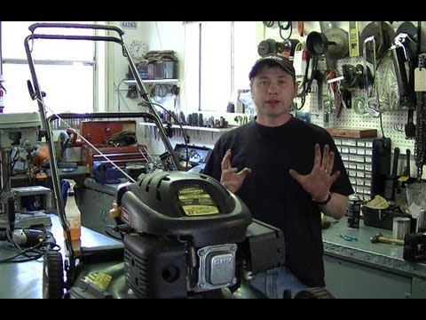 HOW TO Replace a Broken Lawnmower Pull Cord