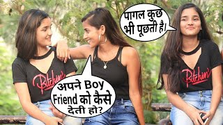 Epic Type Off BoyFriend Patagi prank | Hilarious Reactions On Cute Girl | FT. Annu Singh {Brb-Dop}