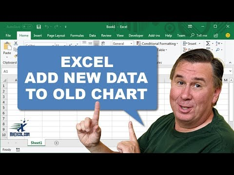 Learn Excel - Paste New Chart Data - Podcast 1990