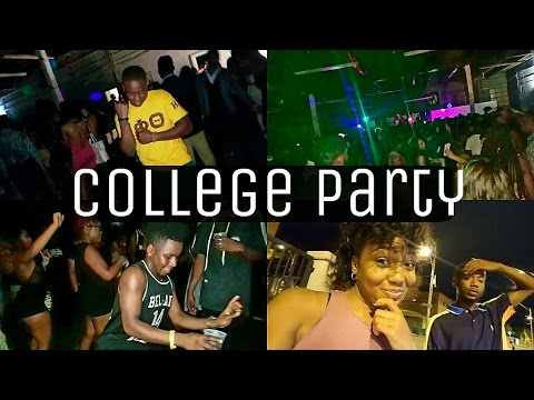 COLLEGE VLOG: UOFM BACK TO SCHOOL PARTY