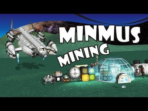 [11] SSTO Space Program - Mining Minmus for fun and profit - KSP 1.2.2