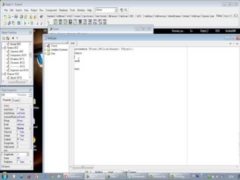 Delphi 7 // How to make a WordPad™
