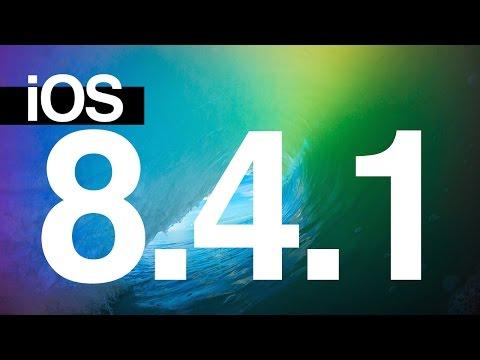 Como actualizar al iOS 8.4.1 iPhone iPad iPod directamente y desde itunes