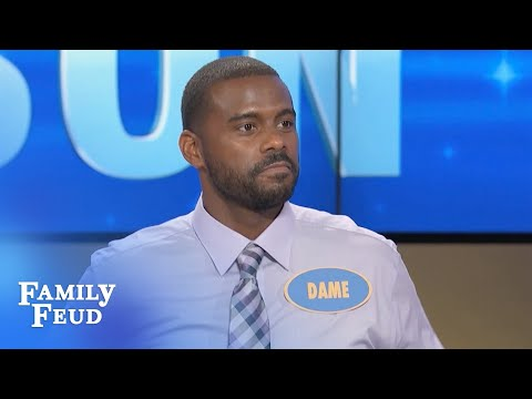 If you're putting your hands in THIS GUY'S TIGHTS you better be QUICK! | Family Feud
