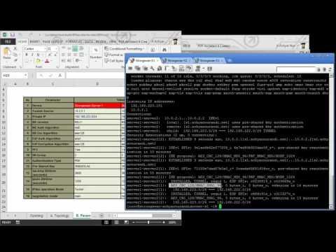 Build IPSec site-to-site VPN using Strongswan 5.3.2