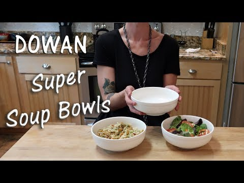 🌼DOWAN SUPER SOUP BOWLS 🌷FINE WHITE PORCELAIN 3-PACK PRODUCT REVIEW👈