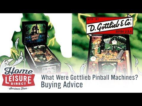 What are Gottlieb Pinball Machines?
