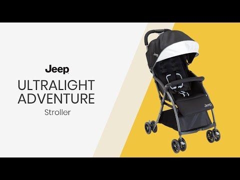 J is For Jeep® Brand Ultralight Adventure Stroller
