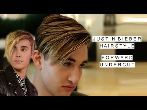 Justin Bieber Hairstyle | Celebrity Hair For Men | Long Forward Undercut