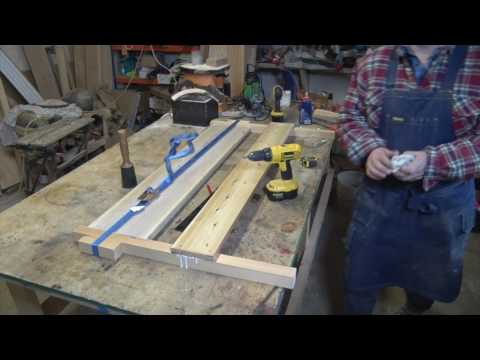 How to make a Handmade wooden bed Frame