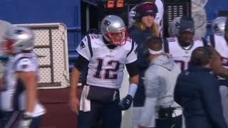 Tom Brady Argues With Josh McDaniels on the Sideline | Patriots vs. Bills | NFL