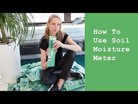 Soil Moisture Meter - How To Use It