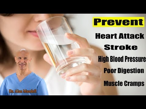 Correct Times to Drink Water to Prevent Heart Attack, Stroke, Poor Digestion, & More - Dr Mandell