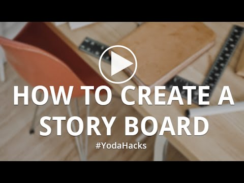 How To Create A Storyboard Presentation