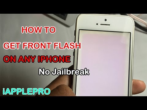 How To Enable Flash On Front Facing Camera On Any iPhone (No Jailbreak)