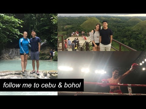 Follow Me To Cebu & Bohol: Boxing, Tarsiers, Chocolate Hills, Whale Sharks Watching, & Aguinid Falls