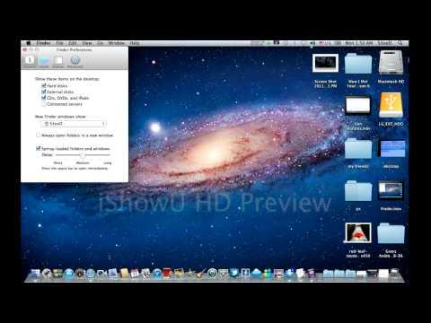How To Hide/Show Hard Disks / External Disks on your Mac Desktop ?