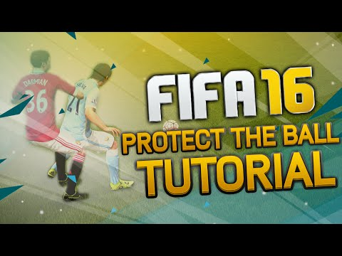 FIFA 16 How to Protect the Ball Tutorial | How to Push Opponents in FIFA 16 | Tips & Tricks