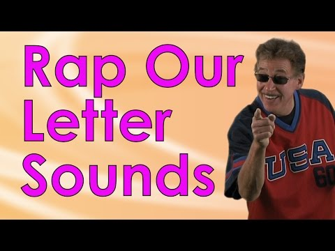 Rap Our Letter Sounds is a fun beginning letters sounds song for kids | Jack Hartmann