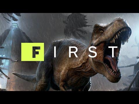 How Jurassic World Evolution Made Its T.Rex - IGN First